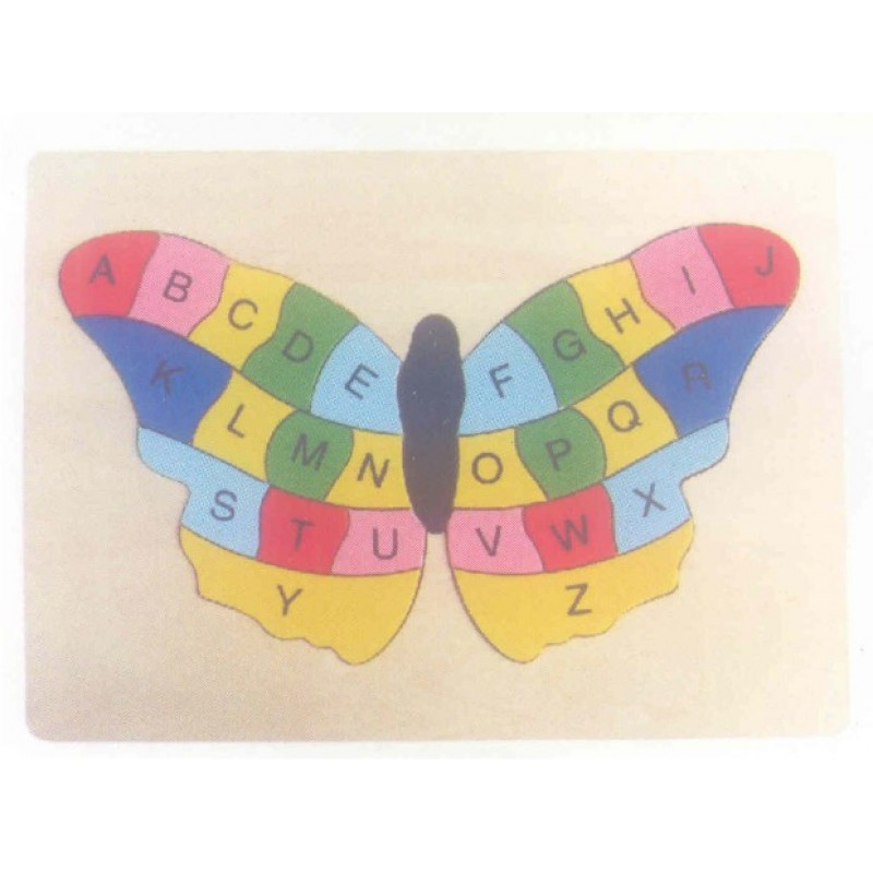 Butterfly ABC Inset