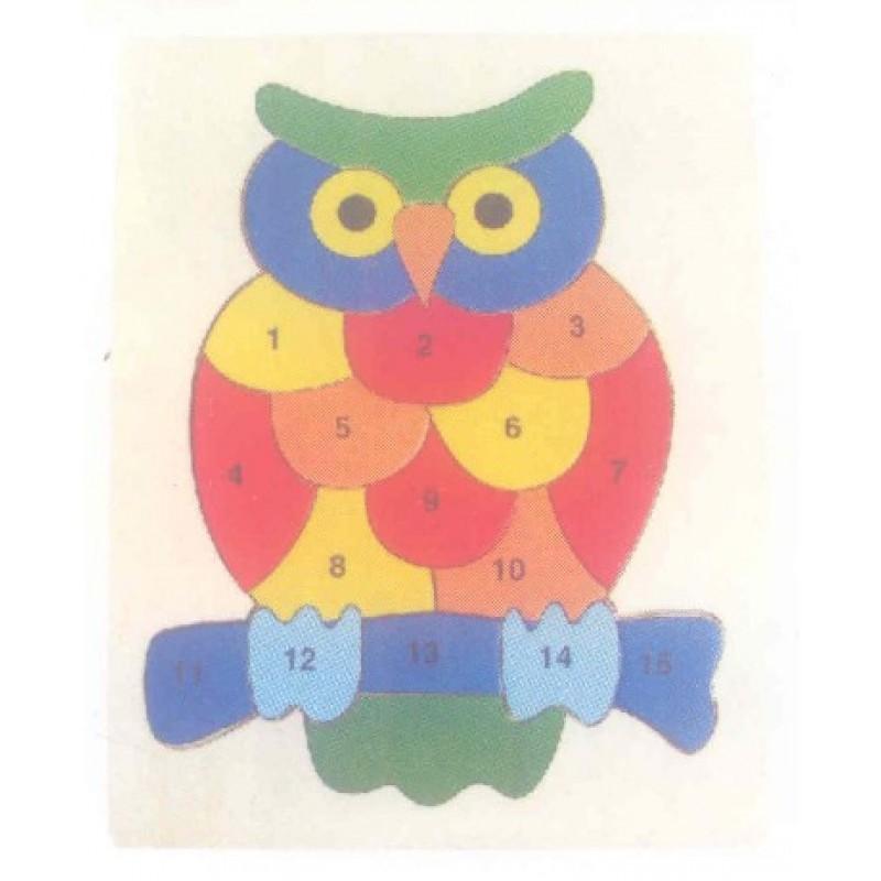Owl 123 Inset