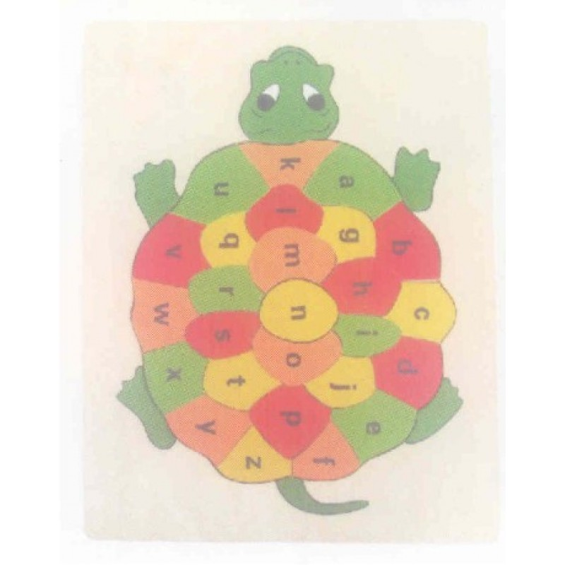 Turtle ABC inset