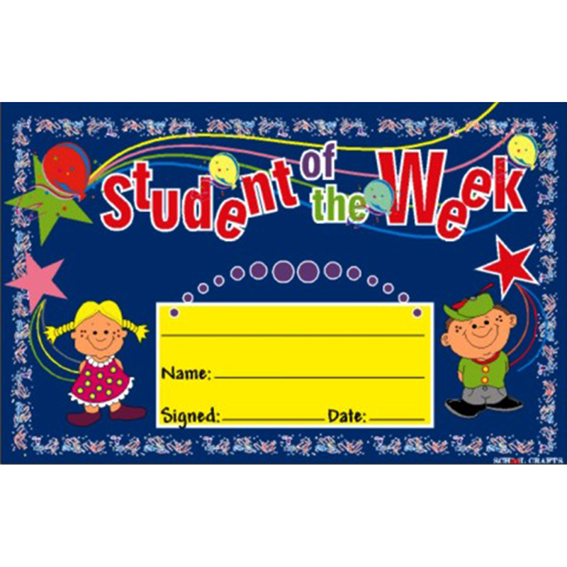 Student Of the Week ...