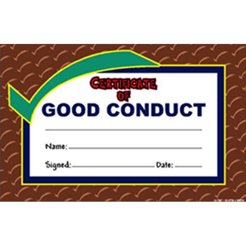 Good Conduct Award