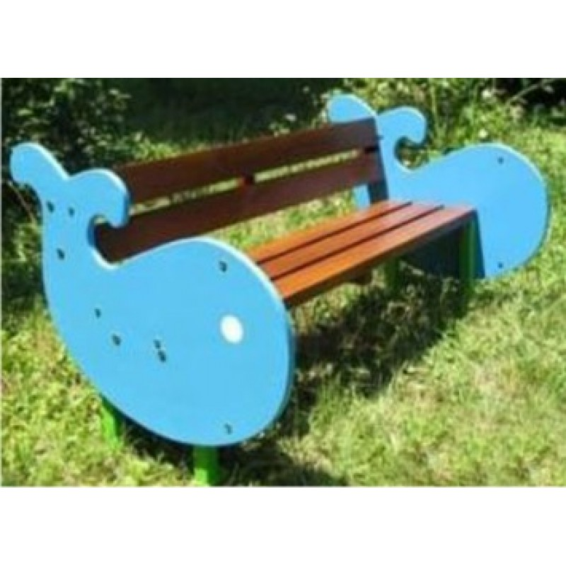 Whale Shape Bench 5 feet