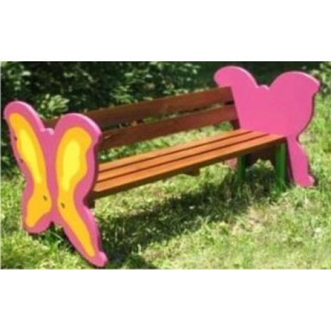 Butterfly Shape Bench 5 feet