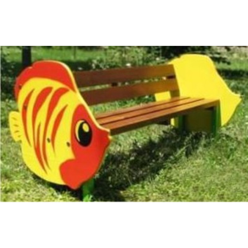 Fish Shape Bench 5 feet