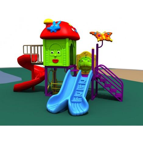 MPB Mini Play Booster Mushroom Hut