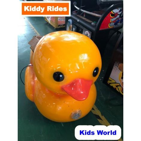 Fiberglass Duck Swing Kiddie Ride KR 003