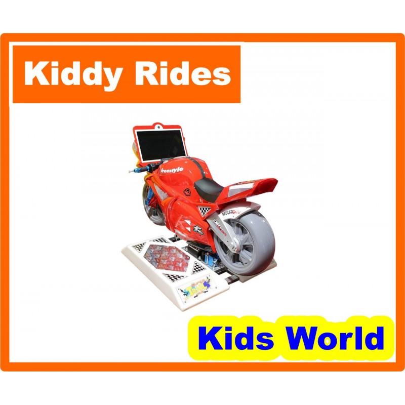 Motorcycle Crazy Kiddie R...