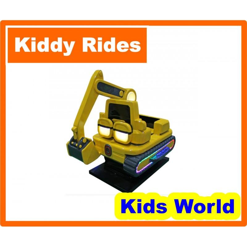 Excavator Kiddie Ride KR ...