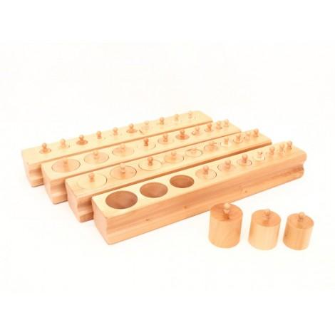 Cylinder Blocks - Plastic Knob