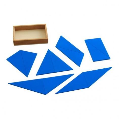 Blue Constructive Triangles