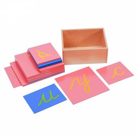 Sandpaper Letters English Cursive