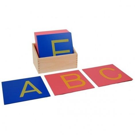 Sandpaper Letters English Upper Case