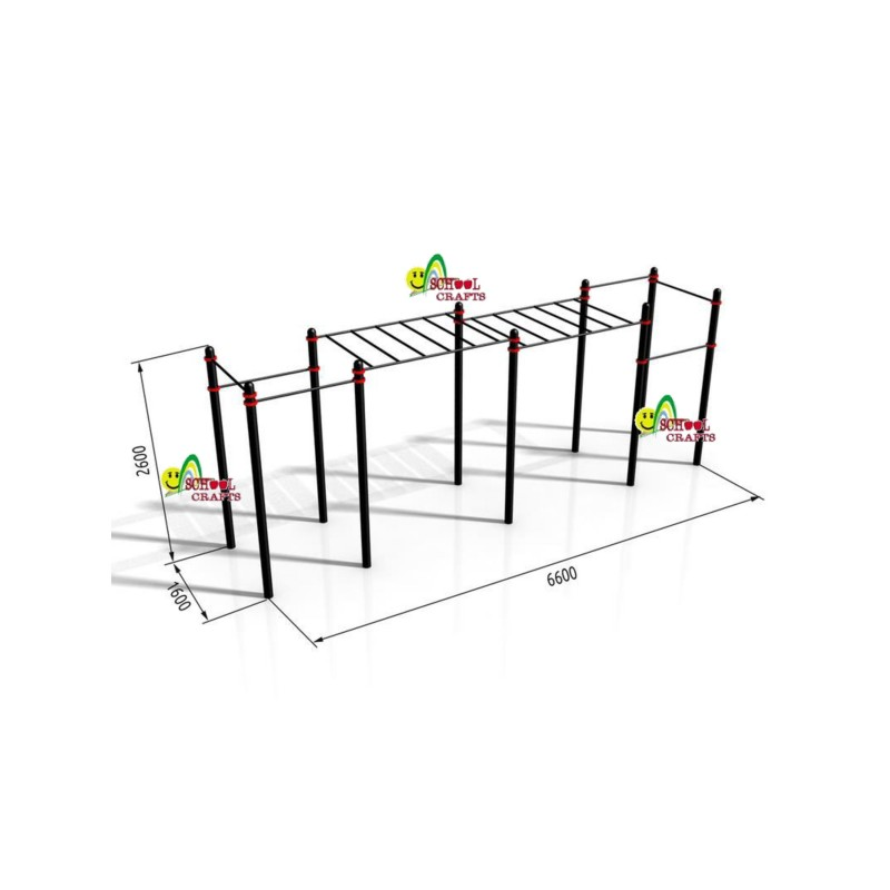 Monkey Bars Horizontal Gy...