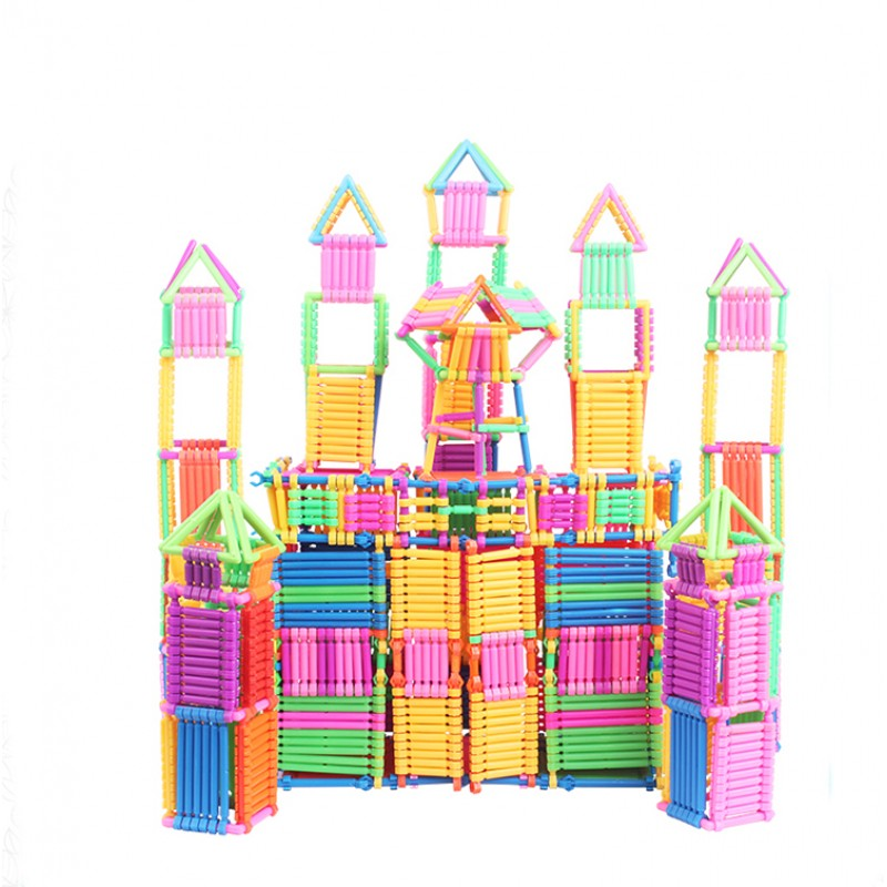 DIY Colourful Building Bl...