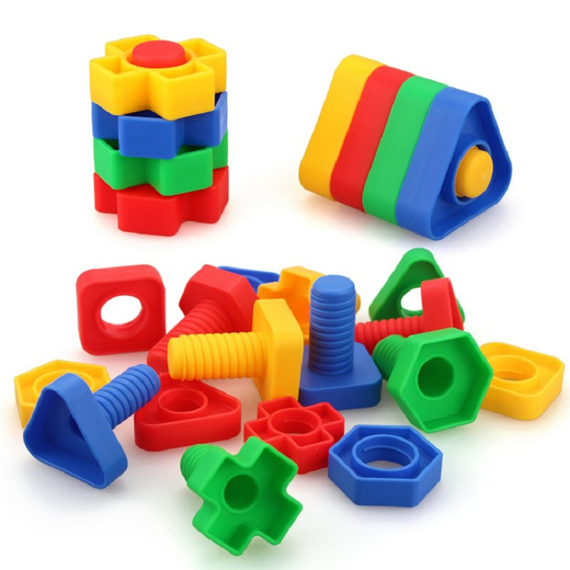 Nut Blocks Toy