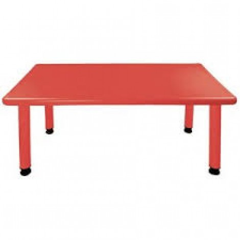 Rectangle Table Imported Plastic