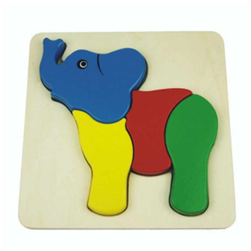 3D Elephant Inset Pu...