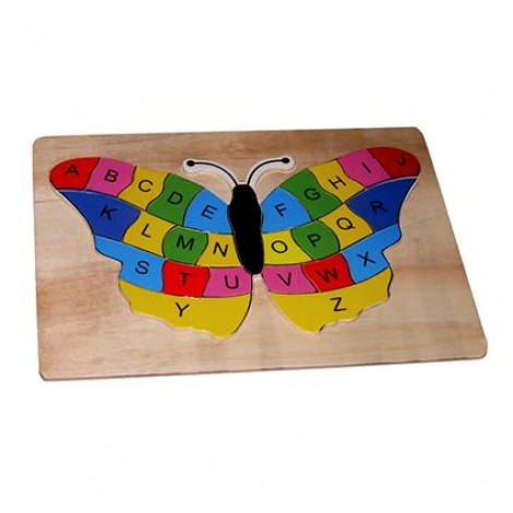 Butterfly ABC Inset Puzzle