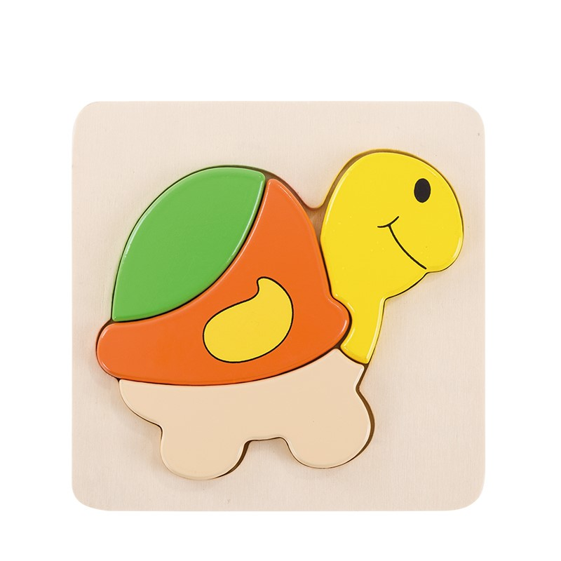 3D Turtle Inset Puzz...