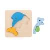 3D Fish Inset Puzzle