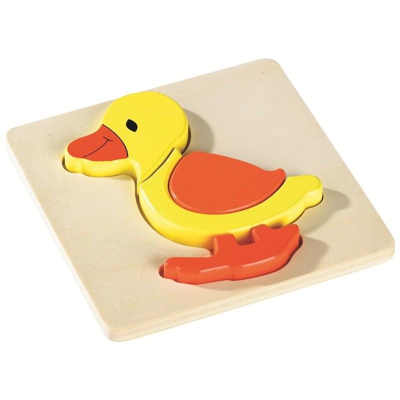 3D Duck Inset Puzzle