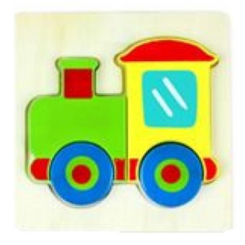 3D Train Inset Puzzl...