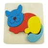 3D Cat Inset Puzzle