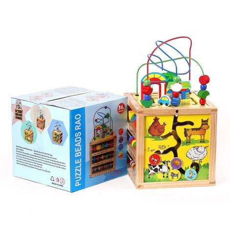 Bead Clock - Puzzle Bead Rao