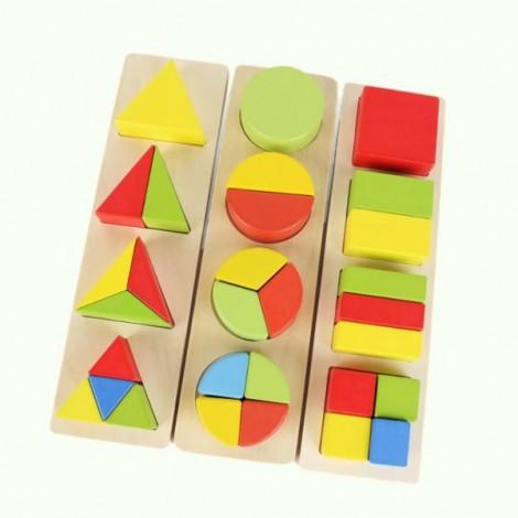 Geometry Set Inset Puzzle