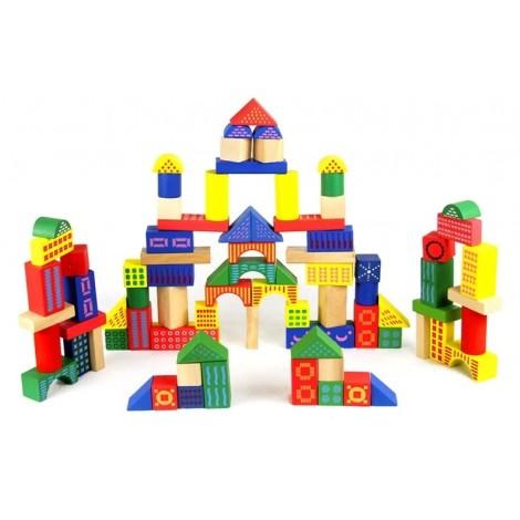 Wooden Blocks 88 pcs Toy