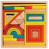 Classic Wooden Geometrical Shapes 32pcs