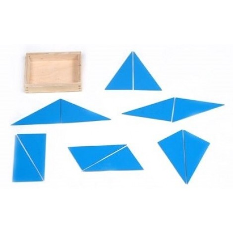 Blue Constructive Triangle