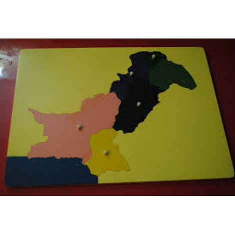 Map of Pakistan Puzzle
