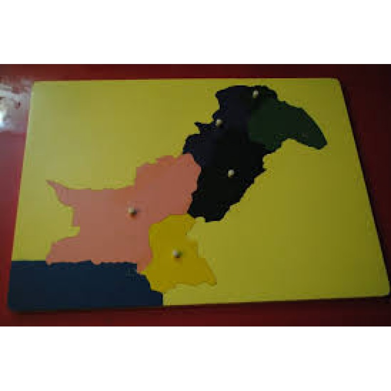 Map of Pakistan Puzz...
