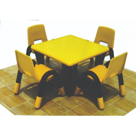 Montessori Square Table and Chair Set