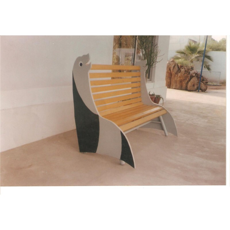 SEAL SHAPE BENCH